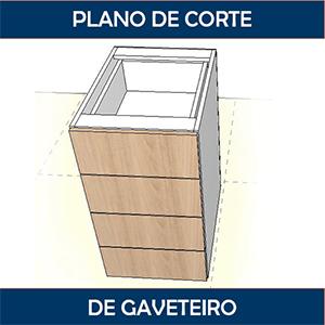 Como fazer o plano de corte de um gaveteiro